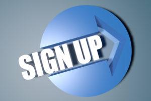 Sign up Logo