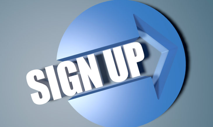 Sign up Logo